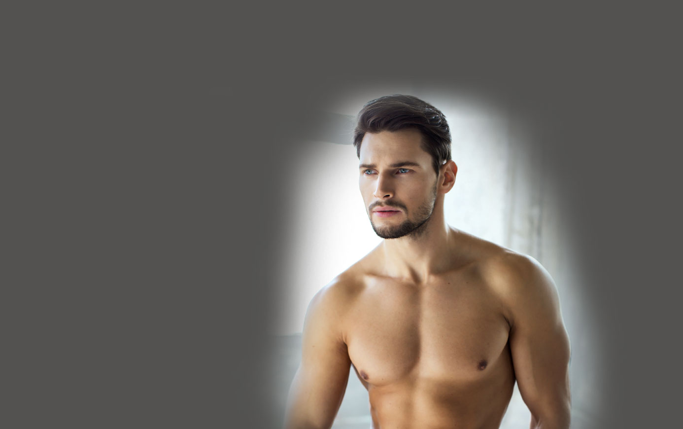 Breast Reduction for Men model