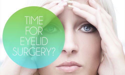 WHY INSURANCE MAY COVER THAT MUCH NEEDED EYELID SURGERY